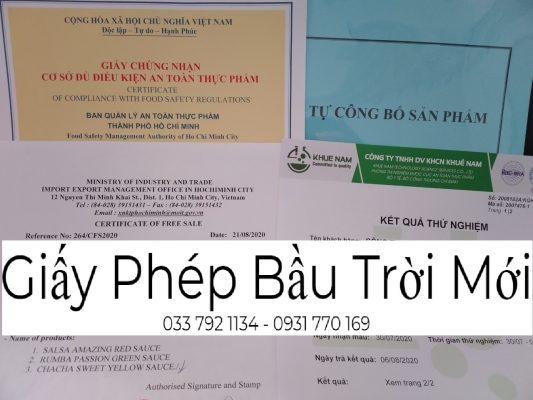 Dịch vụ làm giấy ATTP cho cơ sở sản xuất đóng gói trà